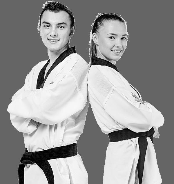 teen martial arts training