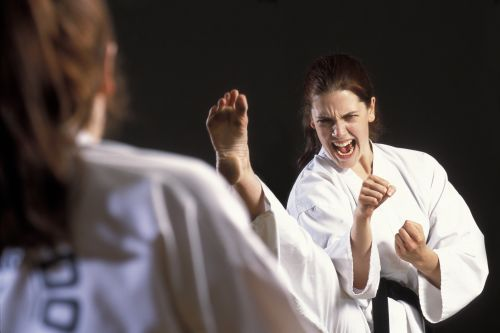 martial arts keeps you motivated