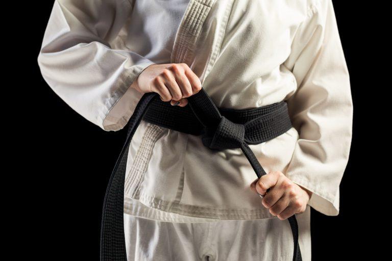 senior martial arts training