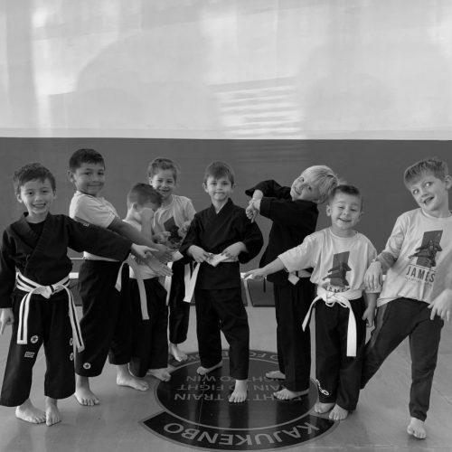 Preschool martial arts